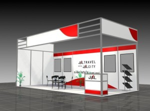 modele stand 3d