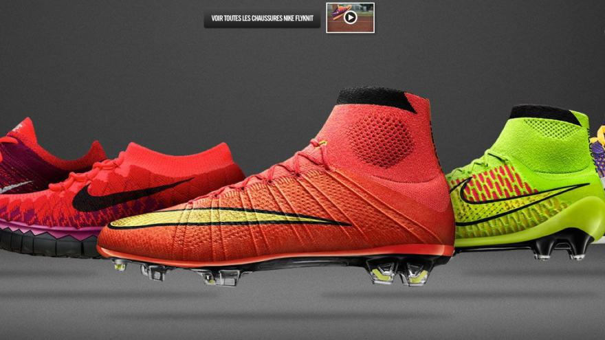 Nike veut vous faire imprimer vos propres baskets en 3D